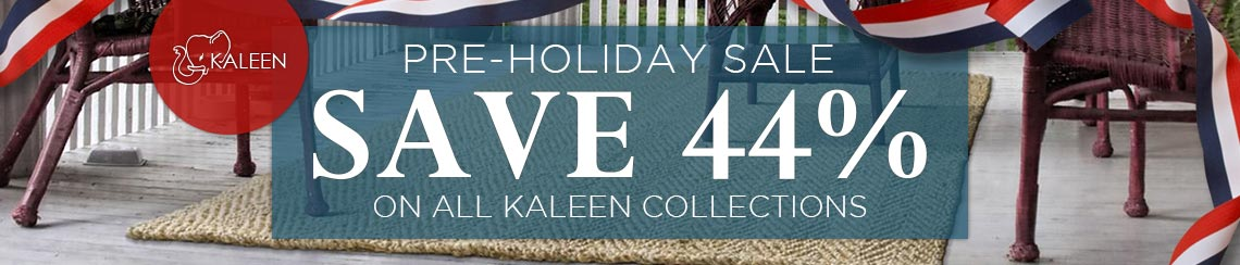Kaleen Pre-Holiday Sale