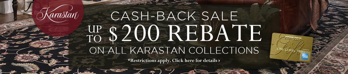 Karastan Cash-Back Sale