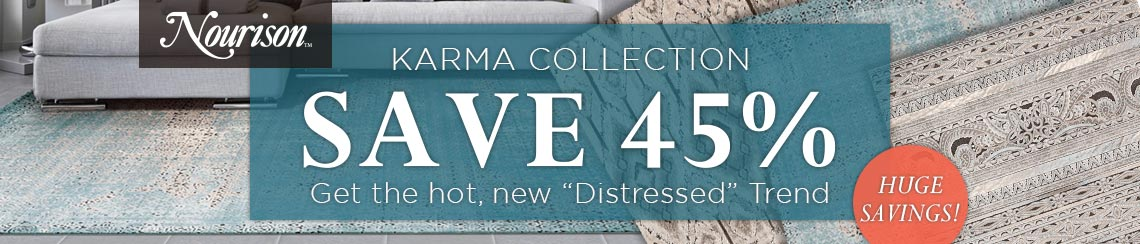 Nourison Karma Collection - Save 45%