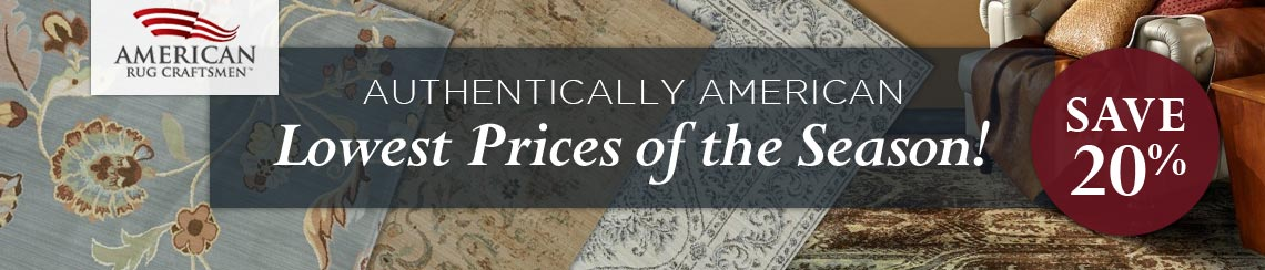American Rug Craftsmen - Lowest Prices of the Season