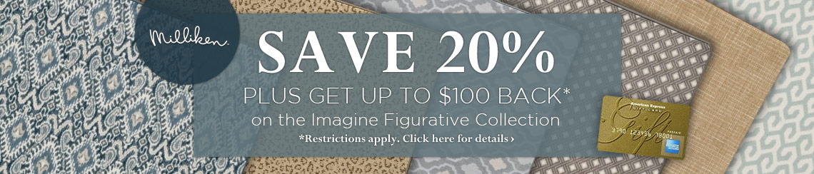 Save 20% plus get up to $100 back on the Imagine Figurative collection.