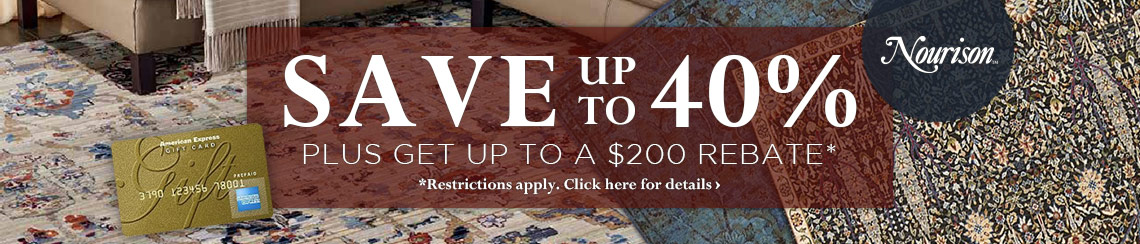 Save up to 40% plus get up to $200 back.