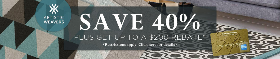 Artistic Weavers - Save 40% plus get up to $200 back.