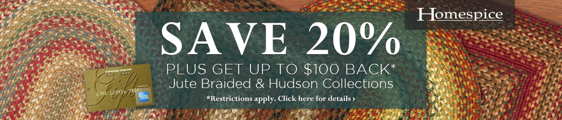 Homespice - Save 20% plus get up to $100 back.