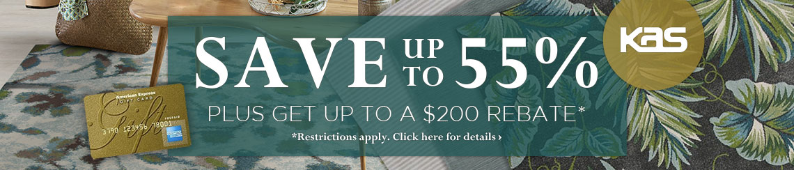 KAS - Save up to 55% plus get up to a $200 rebate.