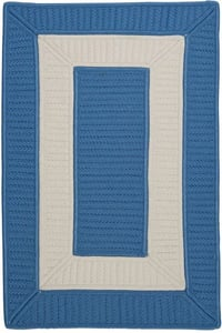 Blue Ice (CB-95) Rope Walk Rope Walk Country Area Rugs