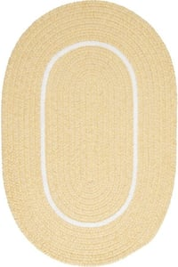 Pale Banana (SL-35) Silhouette Silhouette Country Area Rugs