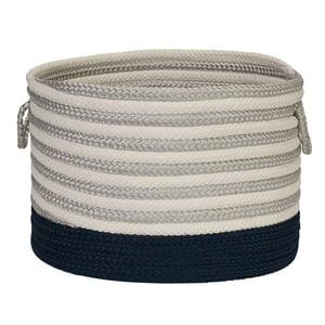Navy (HL-51) Chloe Basket Chloe Basket Country Area Rugs