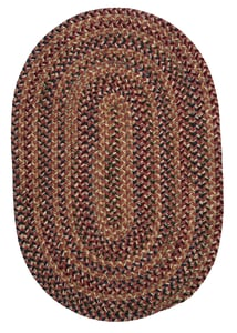 Rosewood (TL-70) Twilight Braided Country Area Rugs
