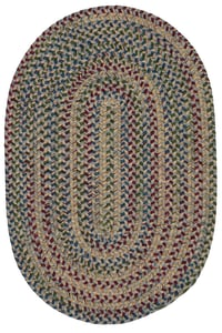 Gray (TL-20) Twilight Braided Country Area Rugs