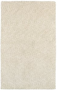 Ivory (73402) Heavenly Heavenly Solid Area Rugs