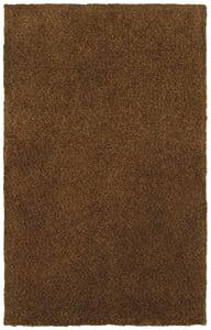 Brown (73404) Heavenly Heavenly Solid Area Rugs