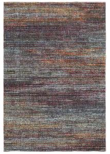 Grey, Purple, Orange (B) Atlas 8037 Contemporary / Modern Area Rugs