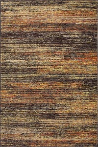 Charcoal, Gold (C) Atlas 8037 Contemporary / Modern Area Rugs