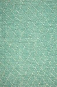 Green, Ivory, Blue Kenza 10857 Bohemian Area Rugs
