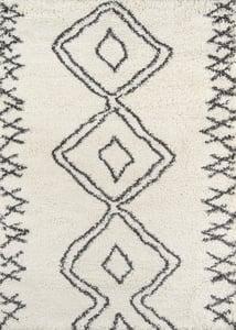 Ivory Maya MAY-1 Moroccan Area Rugs