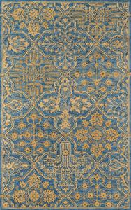 Blue Cosette COS-1 Traditional / Oriental Area Rugs