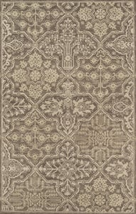 Brown Cosette COS-1 Traditional / Oriental Area Rugs