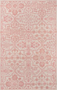 Pink Cosette COS-1 Traditional / Oriental Area Rugs