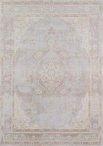 Grey Isabella ISA-01 Traditional / Oriental Area Rugs