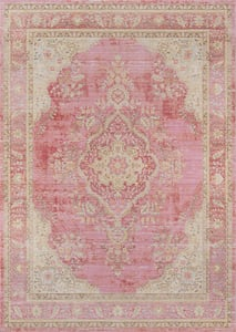 Pink Isabella ISA-01 Traditional / Oriental Area Rugs