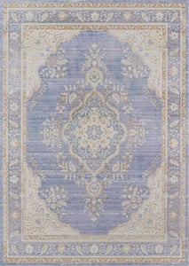 Periwinkle Isabella ISA-01 Traditional / Oriental Area Rugs