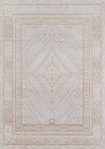 Grey Isabella ISA-07 Traditional / Oriental Area Rugs