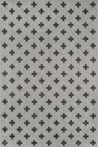 Grey (VI-01) Villa Umbria Contemporary / Modern Area Rugs