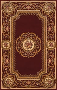Burgundy Harmony HA-12 Traditional / Oriental Area Rugs