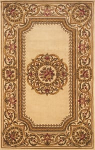 Ivory Harmony HA-12 Traditional / Oriental Area Rugs