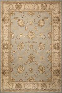 Aqua  Persian Empire PE-22 Traditional / Oriental Area Rugs