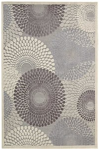 Grey Graphic Illusions GIL-04 Contemporary / Modern Area Rugs