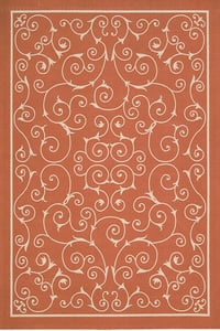 Orange Home and Garden RS-019 Contemporary / Modern Area Rugs