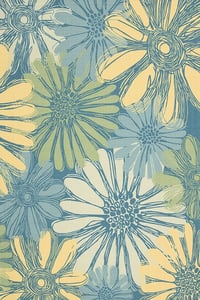 Blue Home and Garden RS-022 Floral / Botanical Area Rugs