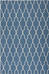 Navy Home and Garden RS-087 Contemporary / Modern Area Rugs