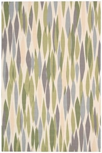 Violet Waverly - Sun and Shade SND-01 Contemporary / Modern Area Rugs