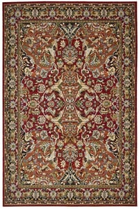 Red Timeless TML-15 Traditional / Oriental Area Rugs