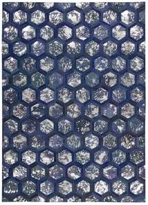 Cobalt Michael Amini - City Chic MA-01 Contemporary / Modern Area Rugs