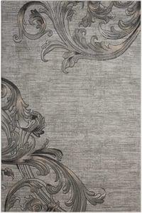 Graphite Maxell MAE-05 Contemporary / Modern Area Rugs
