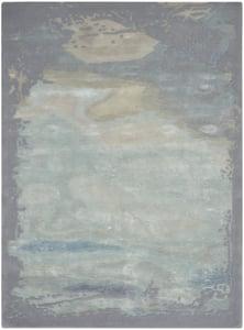 Seafoam, Silver Prismatic PRS-19 Contemporary / Modern Area Rugs