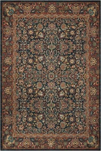 Navy Nourison 2020 NR-201 Traditional / Oriental Area Rugs