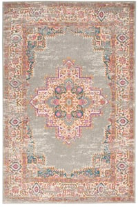 Grey Passion PSN-03 Vintage / Overdyed Area Rugs