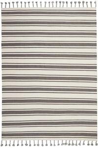 Ivory, Grey Rio Vista SLN-01 Striped Area Rugs