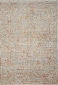 Grey, Brick Silken Weave SLW-02 Vintage / Overdyed Area Rugs