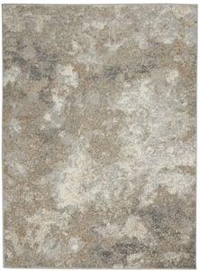 Ivory, Beige Joli IMHR-1 Abstract Area Rugs