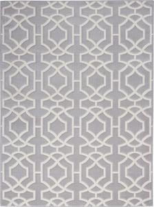 Grey, White Joli IMHR-2 Contemporary / Modern Area Rugs