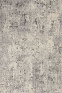 Grey, Beige Rustic Textures RUS-07 Contemporary / Modern Area Rugs
