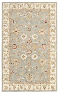 Grey Blue, Beige (A) Antiquity AT-822 Traditional / Oriental Area Rugs