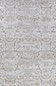 Brown, White Marina Montague Traditional / Oriental Area Rugs