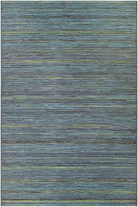Teal, Cobalt (1407-0020) Cape Hinsdale Contemporary / Modern Area Rugs